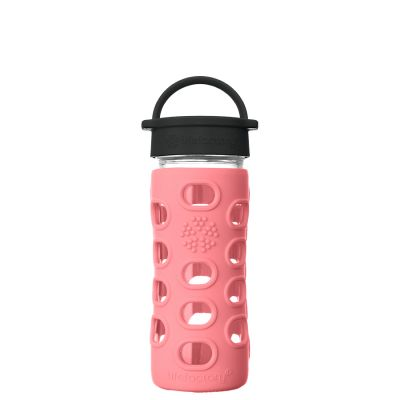 Coral Glass Water Bottle 350ml