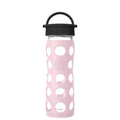 Desert Rose Glass Water Bottle 475ml
