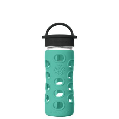Kale Glass Water Bottle 350ml
