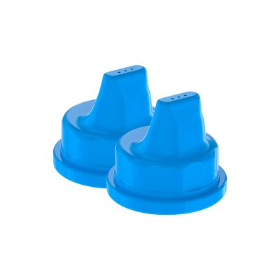 Baby Bottle Sippy Caps Cobalt Blue