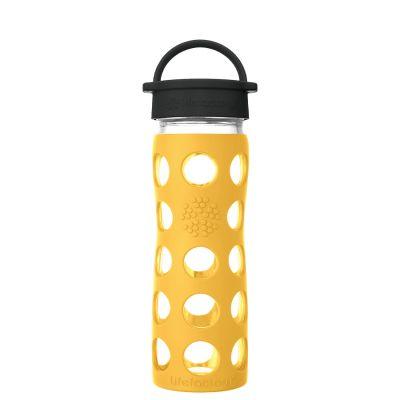 Marigold Glass Water Bottle 475ml
