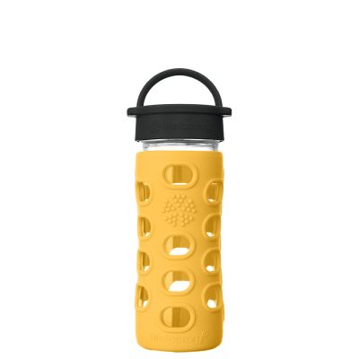 Marigold Glass Water Bottle 350ml