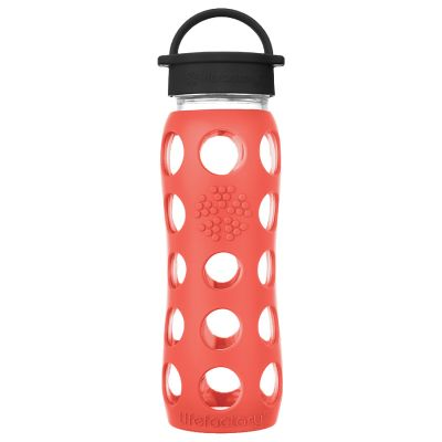 Poppy Glass Water Bottle 650ml
