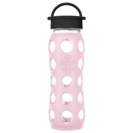 Desert Rose Glass Water Bottle 650ml