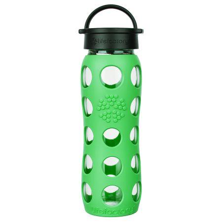 Moss Glass Water Bottle 650ml