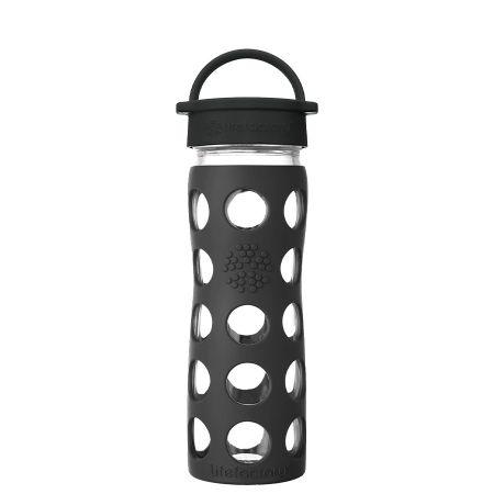 Onyx Glass Water Bottle 475ml