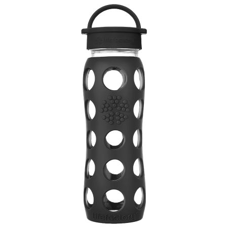 Onyx Glass Water Bottle 650ml