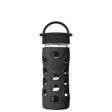 Onyx Glass Water Bottle 350ml