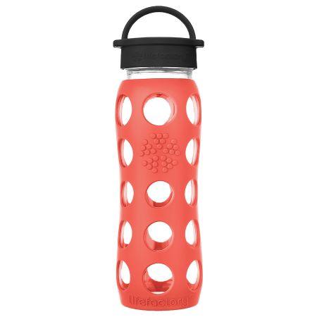 Poppy Glass Water Bottle 650ml